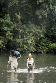 Crossing the Rio Clara